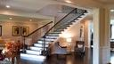 Main Foyer with curve staircase - 26592 MARBURY ESTATES DR, CHANTILLY