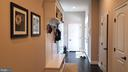 Hallway from Rear Entrance - 26592 MARBURY ESTATES DR, CHANTILLY