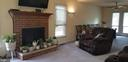 Wood Burning Fireplace - 5411 LEE WHITE LN, FREDERICKSBURG