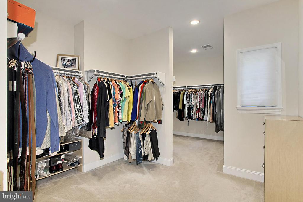 Owner's Suite Walk-In Closet - 7307 ALLAN AVE, FALLS CHURCH