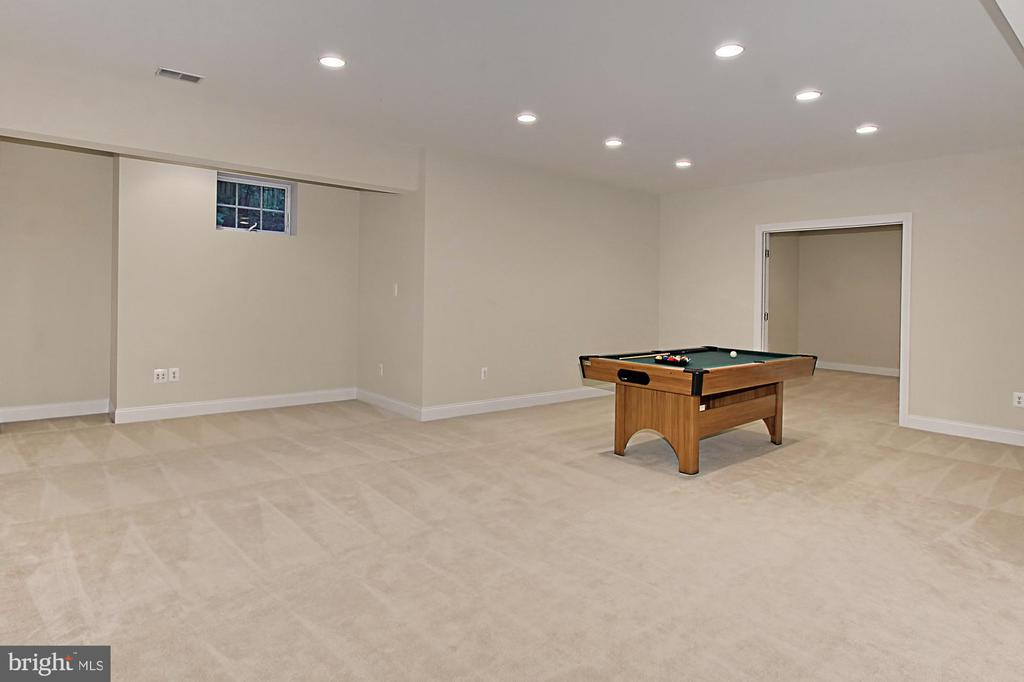 Lower Level Game Room - 7307 ALLAN AVE, FALLS CHURCH