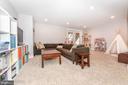 Example finished basement - upgrade option - 9612 WOODLAND, NEW MARKET