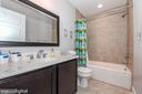 Upper full bath. - 9612 WOODLAND, NEW MARKET