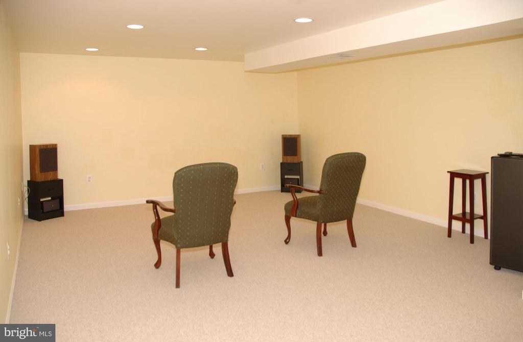 Media Room - Basement - 46929 SENECA RIDGE DR, STERLING