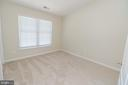 Bedroom #3 on upper level with vaulted ceilings - 25236 WHIPPOORWILL TER, CHANTILLY