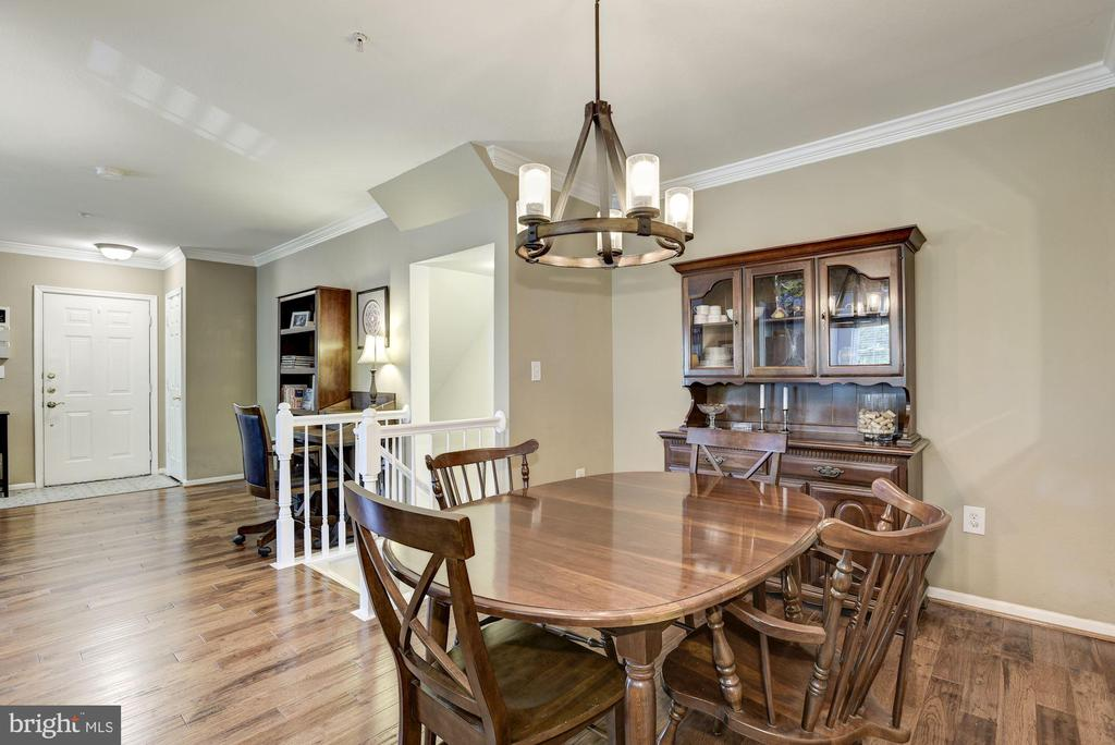 Dining Room - New Hardwood Floors (2018)! - 12861 FAIR BRIAR LN, FAIRFAX