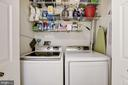 Laundry Room - Located on Level Where Bedrooms Are - 12861 FAIR BRIAR LN, FAIRFAX