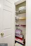 Linen Closet - 12861 FAIR BRIAR LN, FAIRFAX