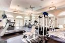 Community Fitness Center w/ Cardio & Weights - 12861 FAIR BRIAR LN, FAIRFAX