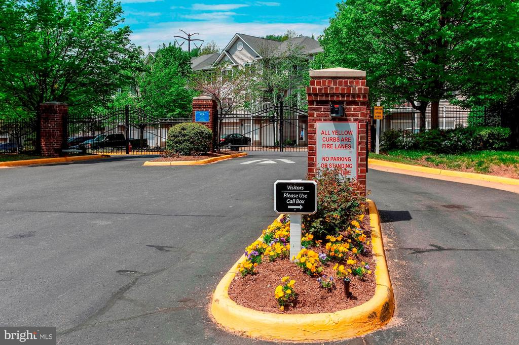 Home is Located within a Gated Community - 12861 FAIR BRIAR LN, FAIRFAX