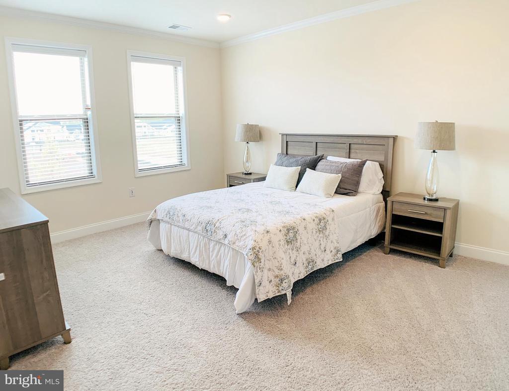 Master bedroom with en-suite - 23631 HAVELOCK WALK TER #303, ASHBURN