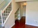 Entry Hall with Built-In Shelves - 3802 PORTER ST NW #302, WASHINGTON