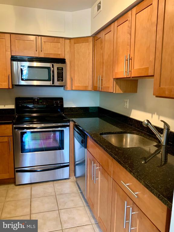 Electric Range & Built-In Microwave - 3802 PORTER ST NW #302, WASHINGTON
