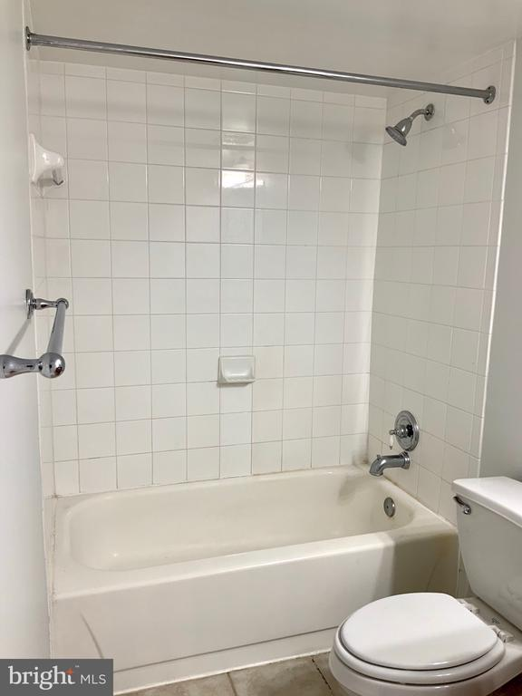 Full Bathroom with Tub and Shower - 3802 PORTER ST NW #302, WASHINGTON