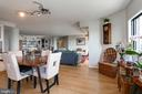 Dining and Living - 1600 N OAK ST #1419, ARLINGTON