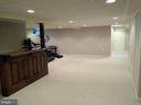Recreation Room. - 8537 WILLOW WISP CT, LAUREL