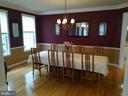 Formal Dining Room. - 8537 WILLOW WISP CT, LAUREL