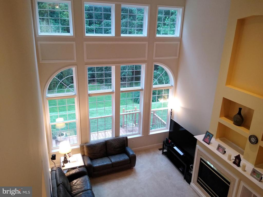 Family Room (view #2). - 8537 WILLOW WISP CT, LAUREL