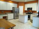 Kitchen (view #2). - 8537 WILLOW WISP CT, LAUREL