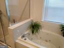 Master Bathroom (view #2). - 8537 WILLOW WISP CT, LAUREL