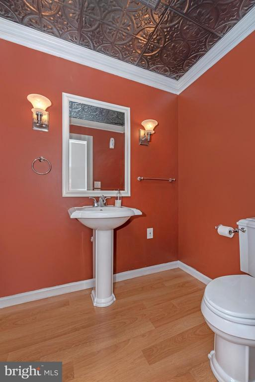 Main Level Powder Room - 3842 MOUNT AIRY DR, MOUNT AIRY