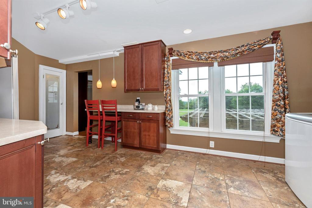 Butler's Kitchen with Pantry off Main Kitchen - 3842 MOUNT AIRY DR, MOUNT AIRY