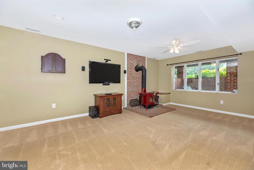 Au-Pair/In-Law Suite Living Area (TV Conveys) - 3842 MOUNT AIRY DR, MOUNT AIRY