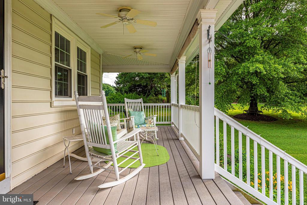 Imagine Sipping a Cool Drink on this Porch - 3842 MOUNT AIRY DR, MOUNT AIRY