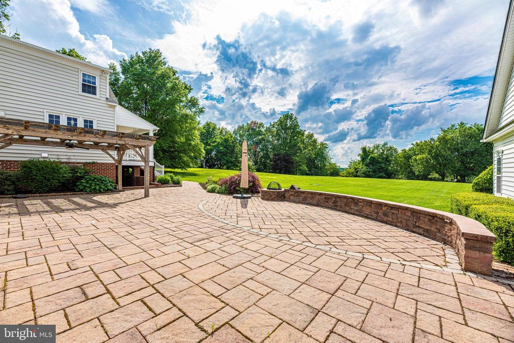 Lots of Space on the Rear Patio for Entertaining - 3842 MOUNT AIRY DR, MOUNT AIRY
