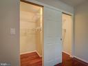 Light inside the closet - 2603 S WALTER REED DR #A, ARLINGTON