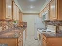 Kitchen with newer Cabinetry - 2603 S WALTER REED DR #A, ARLINGTON