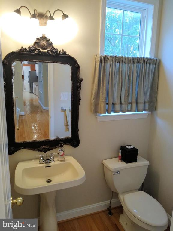 Main Level Powder Room - 8537 WILLOW WISP CT, LAUREL