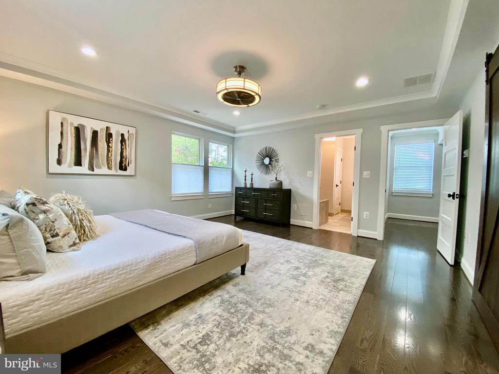 Beautiful tray ceiling! - 705 N BARTON ST, ARLINGTON