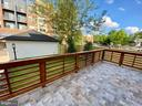 Rear deck for dining and entertaining. - 705 N BARTON ST, ARLINGTON