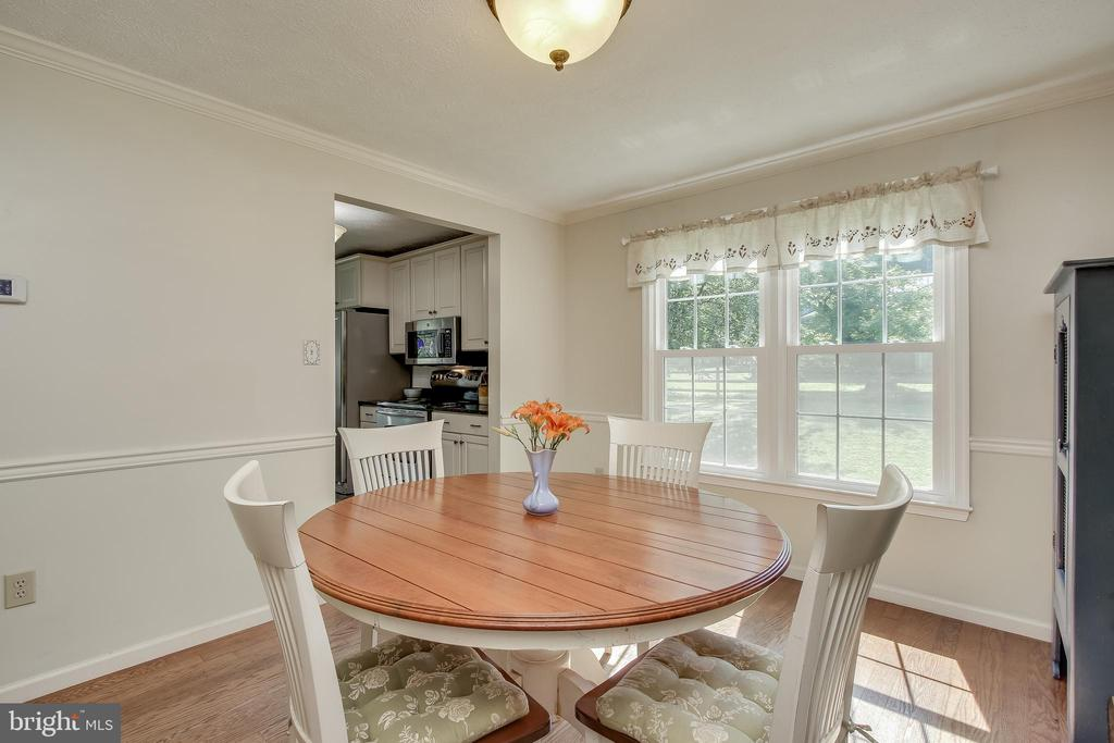 Beautiful views from dining room - 8705-B N PACIFIC CT, MIDDLETOWN