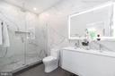 Spa-like en-suite bathroom with double vanity - 432 MANOR PL NW #2, WASHINGTON