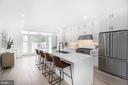 Gourmet kitchen - 432 MANOR PL NW #2, WASHINGTON