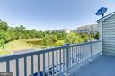 Balcony with View of Pond - 7166 LITTLE THAMES DR #181, GAINESVILLE