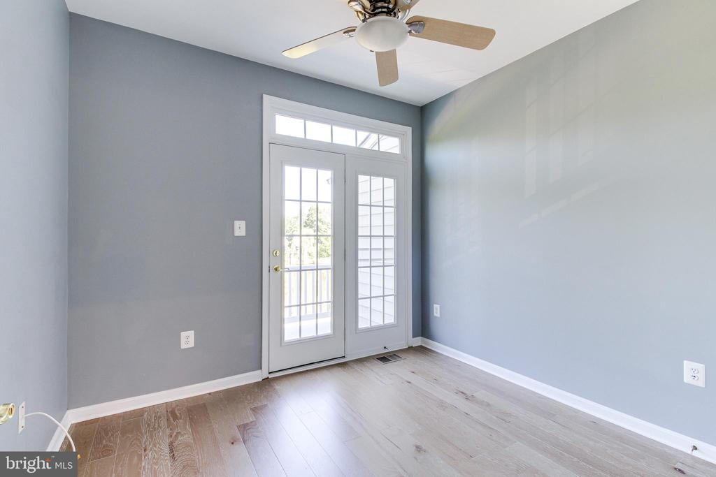 Bedroom #3 with Balcony Access - 7166 LITTLE THAMES DR #181, GAINESVILLE