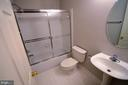 Full bath in lower level - 506 LAWSON WAY, ROCKVILLE