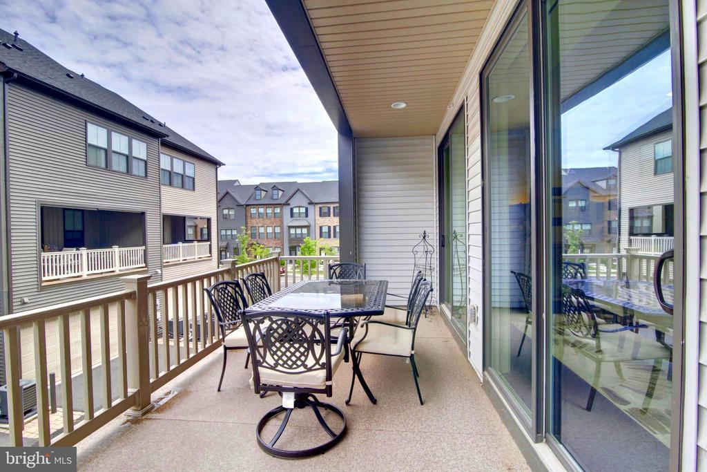 Large Terrace - 43388 WHITEHEAD TER, ASHBURN