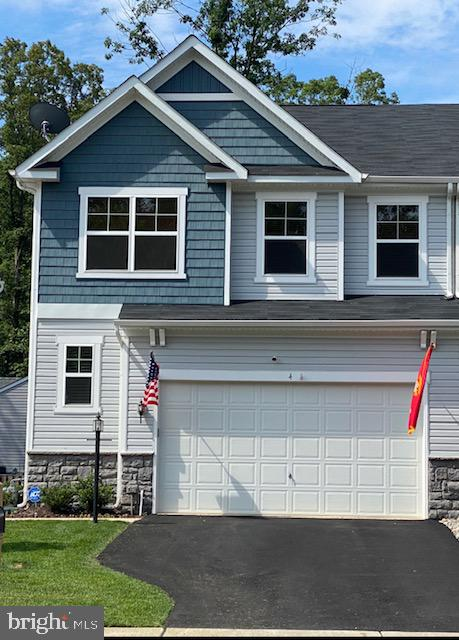 Pristine Exterior with Stone Water Table - 4 WELLSPRING DR, FREDERICKSBURG