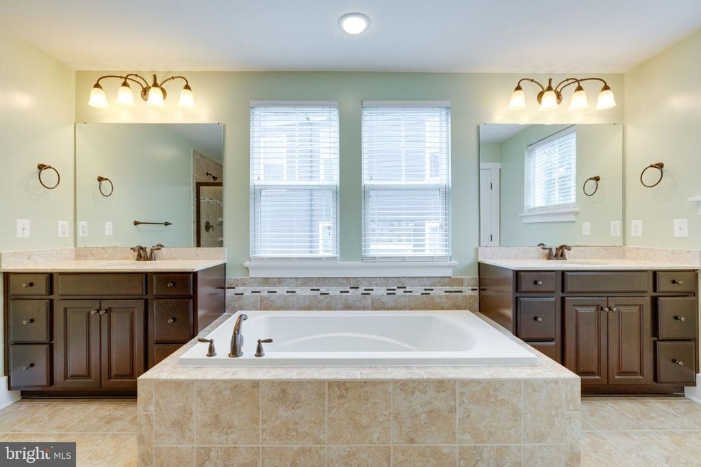Luxurious Master Bath - 17016 TAKEAWAY LN, DUMFRIES