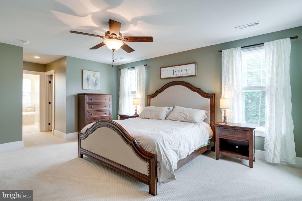 Beautiful Master Suite - 17016 TAKEAWAY LN, DUMFRIES