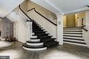Grand stairwell or elevator, your choice. - 1745 N ST NW #211, WASHINGTON