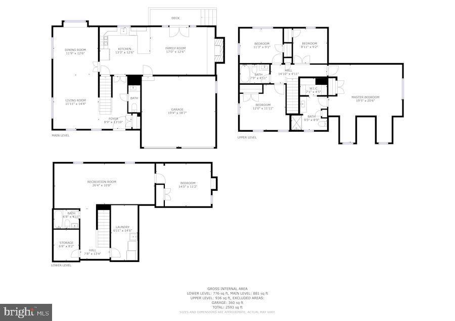 Floors Plans - 6249 23RD ST N, ARLINGTON