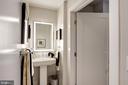 Powder room off foyer - 1745 N ST NW #211, WASHINGTON