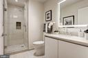 Second bedroom's en suite bathroom - 1745 N ST NW #211, WASHINGTON