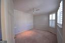 Master bedroom on main level, crown molding - 506 LAWSON WAY, ROCKVILLE