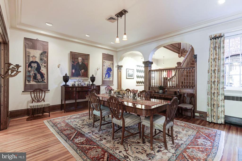 Dining Room - 1840 WYOMING AVE NW, WASHINGTON